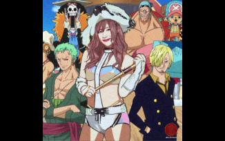 Pirate Princess Kairi Sane x Strawhat Pirates