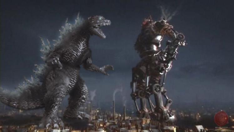Godzilla vs Cyberking
