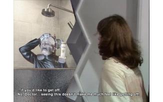 Davros Shower Funtime (TARDIS door Meme template by Clayton Hickman)