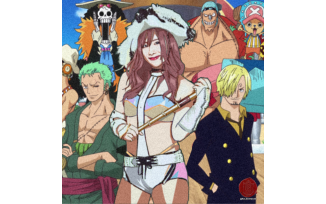 Pirate Princess Kairi Sane x Strawhat Pirates