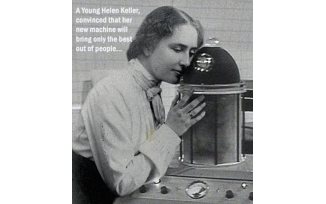 The Helen Keller Machine